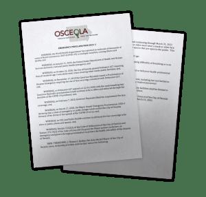 covid-19 proclamation in osceola iowa