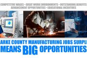 manufacturing job surplus clarke county iowa