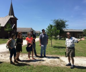 Guided tours at Pioneer Village