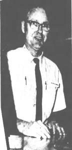 Black and white photo of Kissimmee resident Malvin Samuel