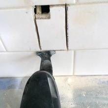 how to cut tile with out a tile cutter but with an oscillating tool