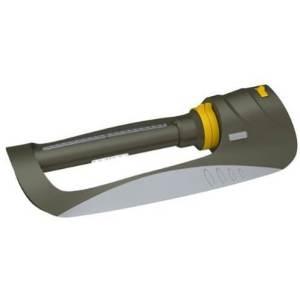 Nelson 50945 Triple Spray Aqua-Drive Oscillating Sprinkler, Rezimar Base