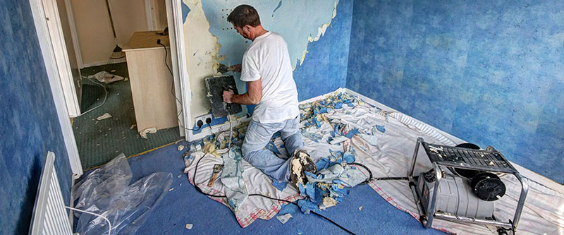 Cleaning Walls for Painting