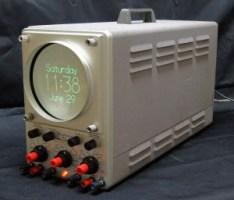 Heathkit OR-1 Oscilloclock