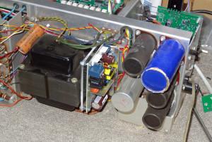 Heathkit Oscilloclock - power supply
