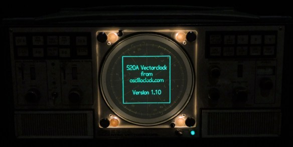 Tek 520A VectorClock - Glorious Glow