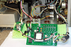 Toshiba ST-1248D Oscilloclock - Boards pulled out