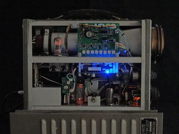 Toshiba ST-1248D Oscilloclock - Tubes