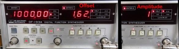 Simple 3.3V to 5V analog level adjuster - Test setup
