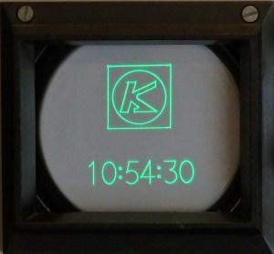 2015 edition Xxxxxxxx 537 Oscilloclock - secret logo