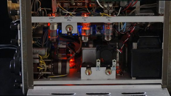Realistic LED backlighting - enjoy the valves without actually heating them up!