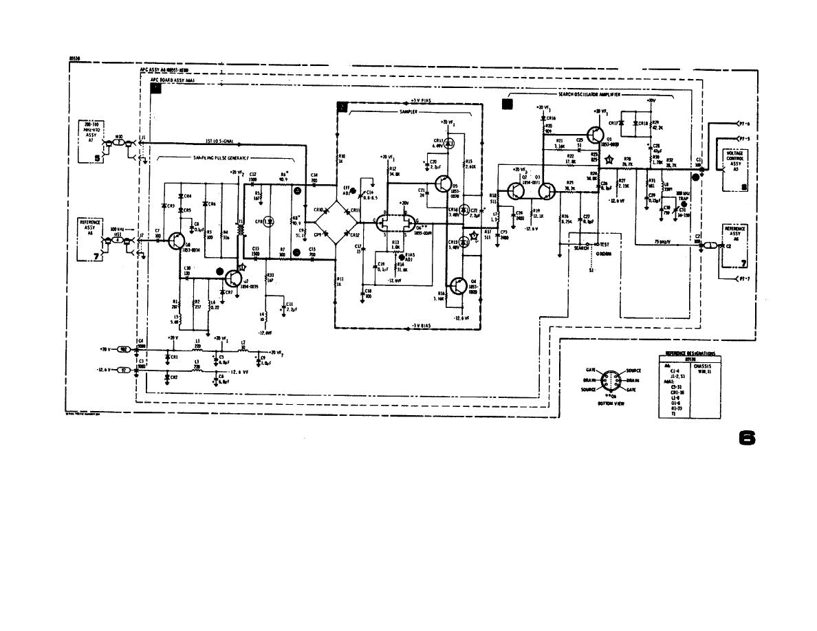Figure 5. Automatic Phase Control and Sampler/Amplifier