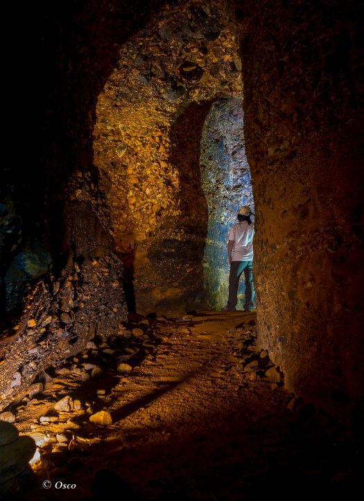 galerías de Yeres,minería
