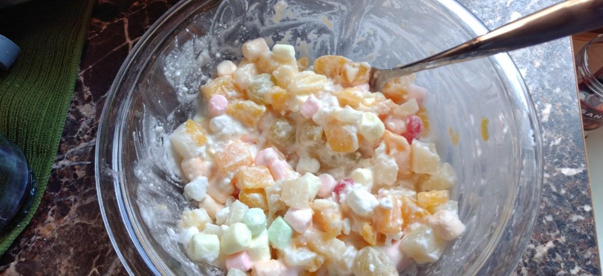 Easy Dairy-Free Grandma's Fruit Salad
