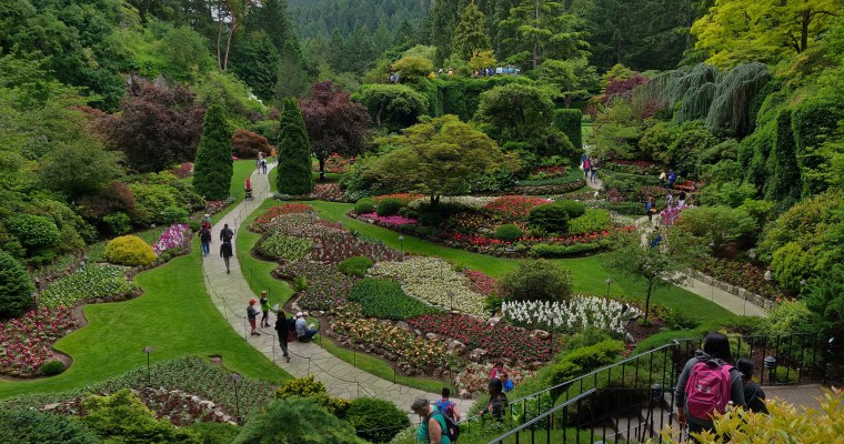 Victoria Part 1: Butchart Gardens