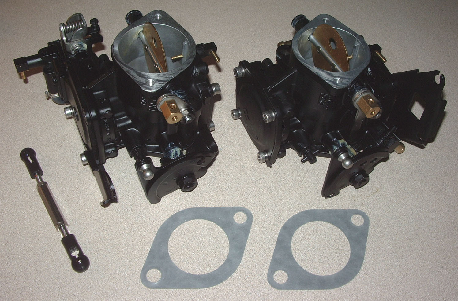 hight resolution of osd sea doo 787 800 oem mikuni dual carb set pwc boats