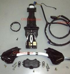 osd sea doo spark adjustable riser steering kit ibr harness  [ 1600 x 1230 Pixel ]