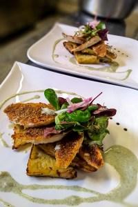 Filets de Rouget en croûte provençale