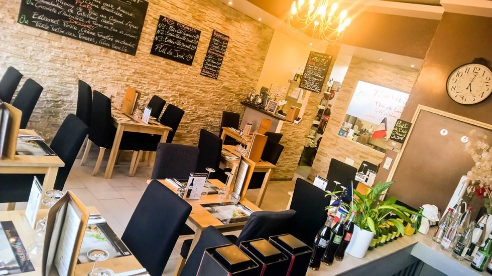 Salle de restaurant Osélysé 2016