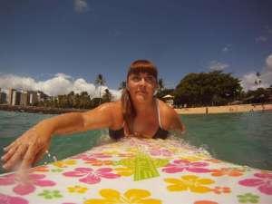 Geneviève, 20 ans de voyage solo