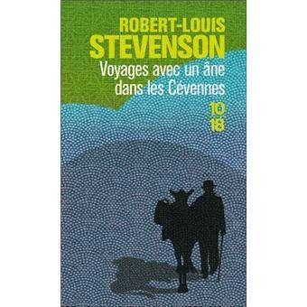 livres voyage Voyages avec un âne dans les Cevennes