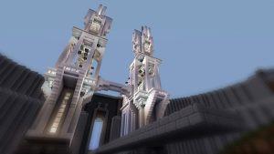 Minecraft white castle