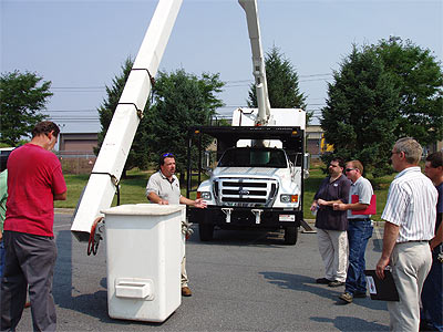 Safe Operation Of A Bucket Truck Training