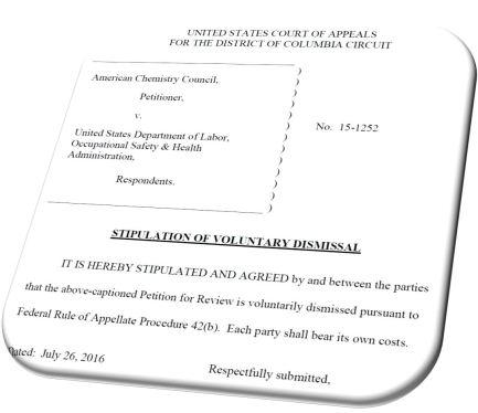 ACC Settlement
