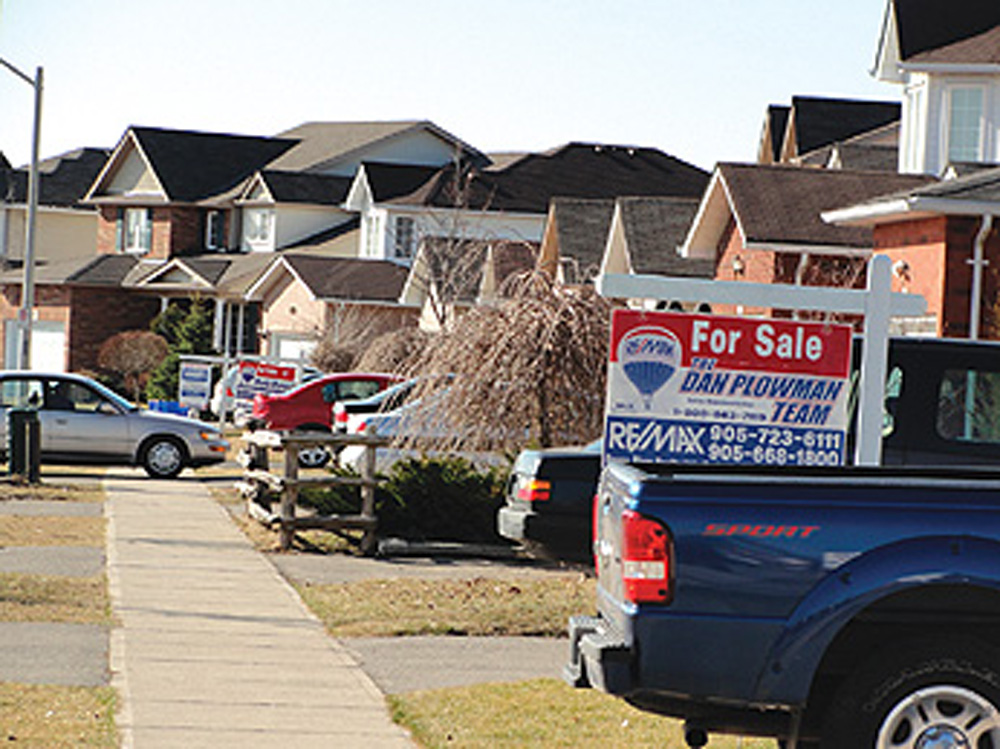 "A report by realtor Royal LePage found that the average price of a home in Oshawa at the end of 2016 was up 26.9 per cent over the year before. The report says an increase of that magnitude is ""Vancouver-like,"" referencing the growing real estate prices seen in the British Columbia city."