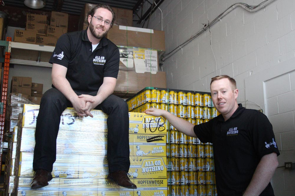 Eric and Jeff Dornan, the brothers behind All of Nothing Brewhouse, will be expanding their operations to Oakville after purchasing Trafalgar Ales and Meads, along with its sister companies Black Creek Historic Brewery and Trafalgar Artisanal Spirits. While production of the brewery's signature beer will be in Oakville, the Dornans say their heart is still in Oshawa and Durham Region, and hope to eventually bring production here once they can find a suitable location.
