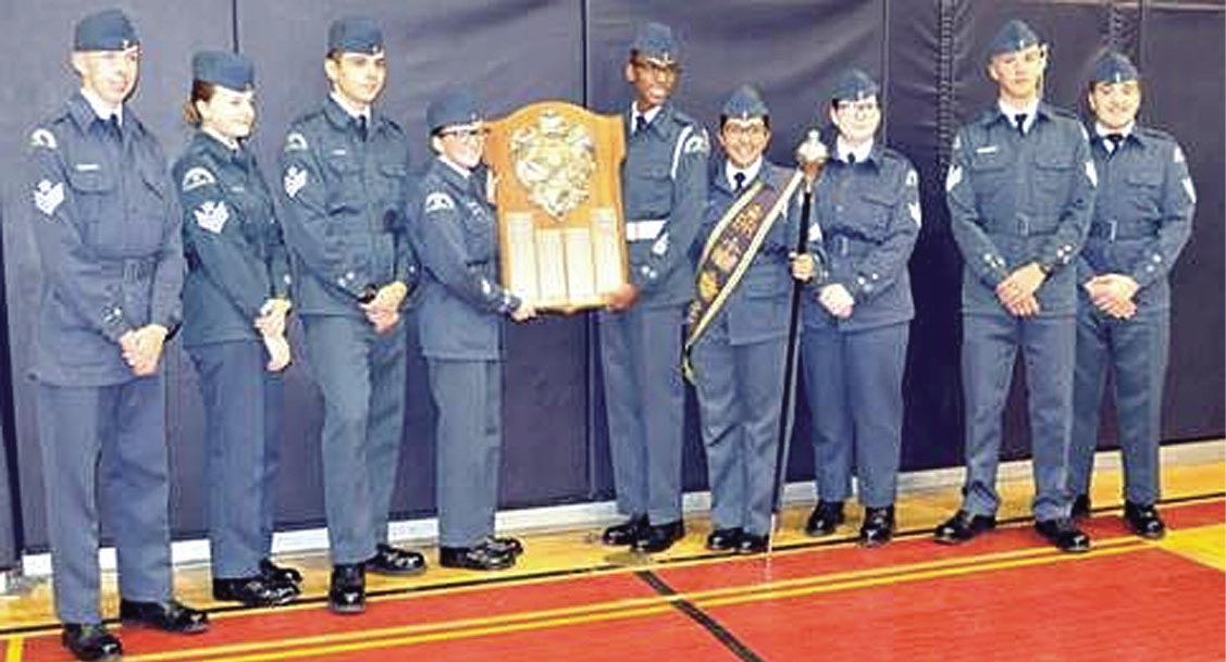 Oshawa's 151 Chadburn Squadron of the Royal Canadian Air Cadets has been honoured with the Dr. George Westman Proficiency Shield, making it the top group of air cadets in the province. This is the eighth time the squadron has received this honour since its creation 75 years ago.