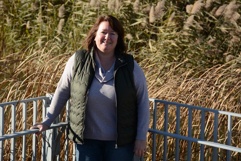 Andrea Kirkwood, an associate professor in UOIT's Faculty of Science, is the lead researcher in a program monitoring pollution in Oshawa's waterways. She says that as development continues to grow, so too does the pollution.