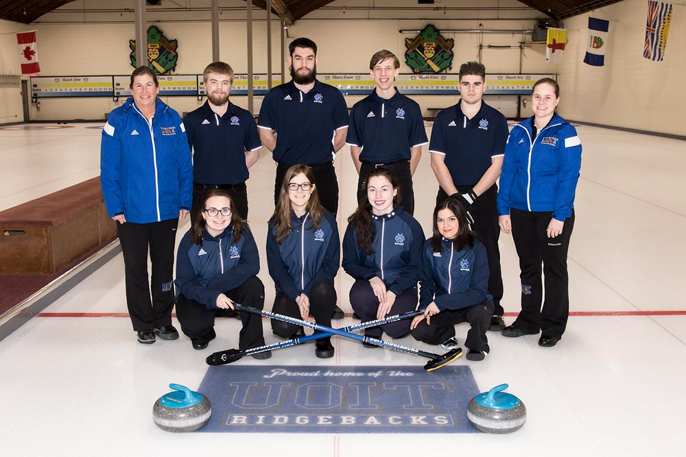 The UOIT curling team will be looking to use home ice advantage when they play host to the OUA curling championships from Feb. 16-20. In 2015, the Ridgebacks fell to the Laurier Goldenhawks in the quarter-final.