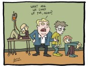 Lance Goosen Cartoon