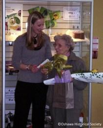 Jillian Passmore and Doris Spencer