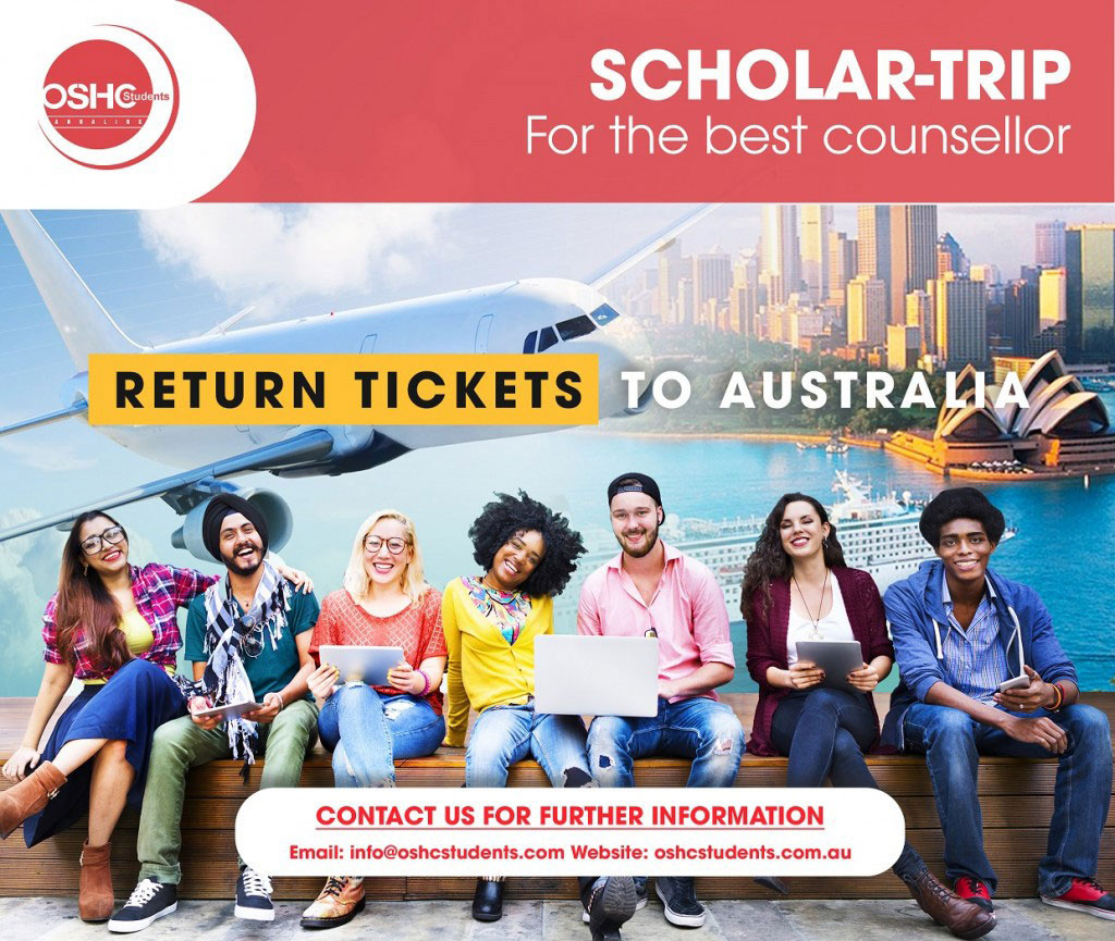 Scholar-trip for the best counsellor