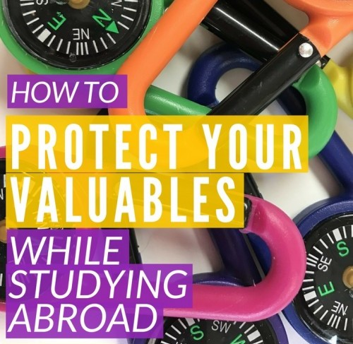 How to protect your valuables while studying abroad