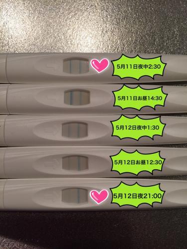 妊娠検査薬 いつから反応しますか? -2人目希望で基礎體溫は ...