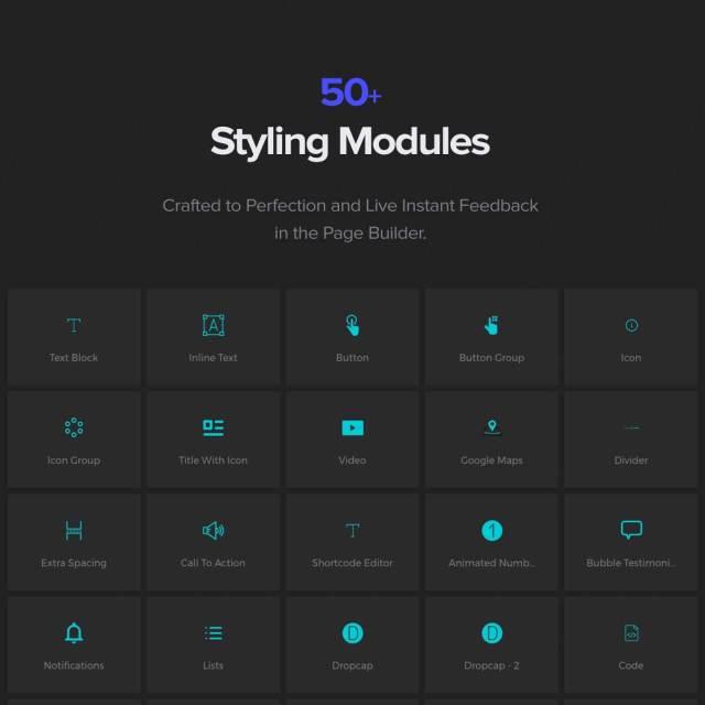 50+ Styling Modules