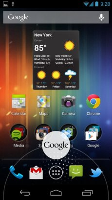 from-the-home-screen-you-can-swipe-up-from-the-bottom-of-the-display-to-launch-google-now