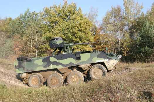 Pandur Armády České republiky