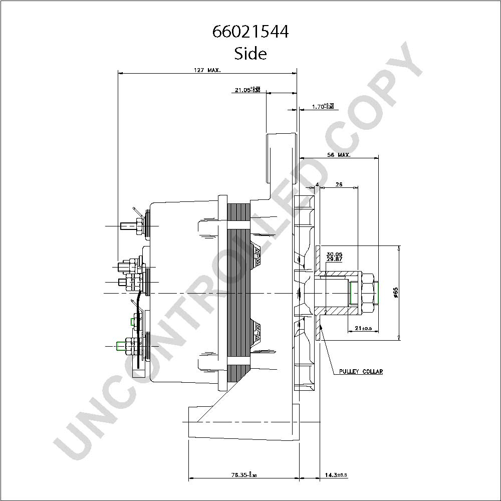 Neville Alternator Wiring Diagram 14 Prestolite 857722