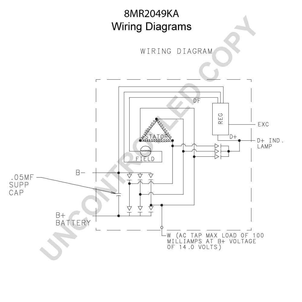 prestolite aircraft alternator wiring diagram for trailer mounted electric brake controller 6222y voltage regulator ...