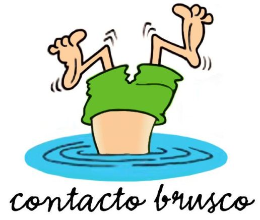 contacto brusco