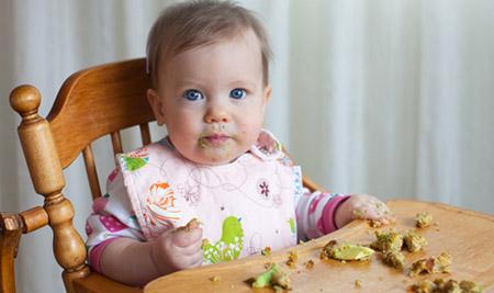 comer a trocitos, alimentacion complementaria