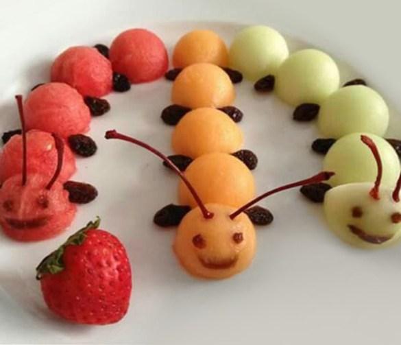 Cómo conseguir que mi hijo coma fruta y verdura