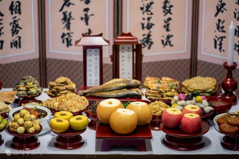 차례음식,food,중국춘절