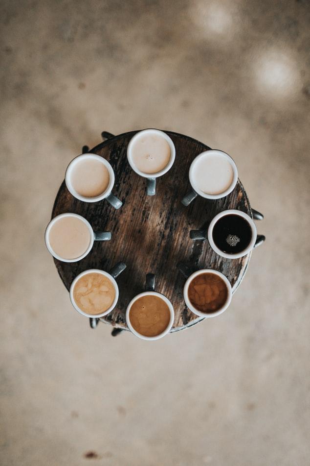 커피애는 가장 기본인 에스프레소부터 아메리카노, 카페라떼, 카푸치노 등의 다양한 종류가 있습니다.