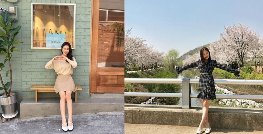 여자 봄 데이트룩 장희령 배은경 패션