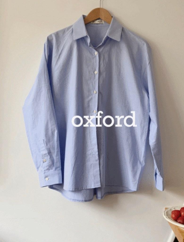 98도씨 옥스포드 셔츠